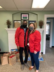 Beverly Farm DSP Week 2021 - Kate and Travis on Jacket Day