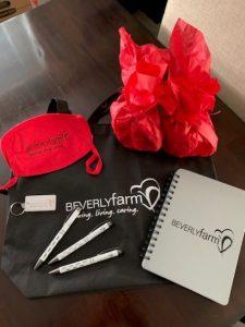 Beverly Farm QIDP Week: Tuesday Goodie Bag Day Goodies